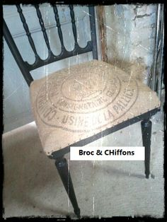Une petite chaise relookée