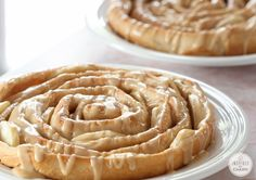 A Year of Yeast: <br /> Spiral Apple Bread with Caramel Apple Glaze