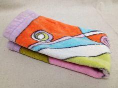 Vintage Emilio Pucci Springmaid hand towel by momandpopcultureshop, $40.00