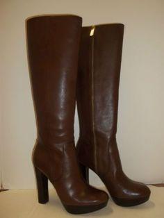 #reallycute brown high heel boots 08067739