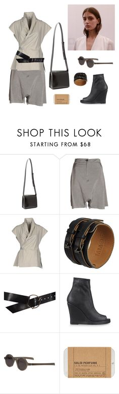 """""""Rey"""" by rafsim0ns ❤ liked on Polyvore featuring Lemaire, DAMIR DOMA, Rick Owens, MM6 Maison Margiela, Ann Demeulemeester, Mykita and Le Labo"""