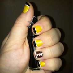 Nails ready for the Steelers game!