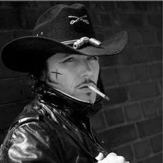 Adam Ant (minus the cigarette! )