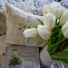 Living Life Beautifully by Christina Strutt of Cabbages Roses company. A lovely book!