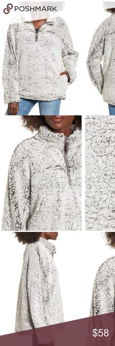 Nordstrom Thread & Supply Wubby Fleece Pullover Nwt fleece pullover from Nordstrom Nordstrom Jackets & Coats
