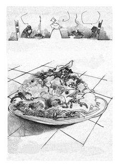 """Mangiate che é buono"".  http://www.roundrobineditrice.it/rred/catalogo.aspx"