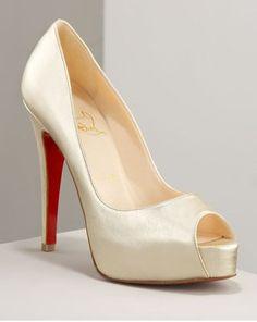 Louboutin wedding heels