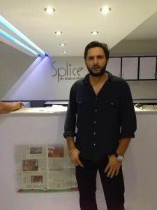 """Shahid Afridi Launched """"Splice"""" Restaurant Chain In Pakistan, Shahid Afridi is far from cricket these days, but they are increasingly important in the news"""