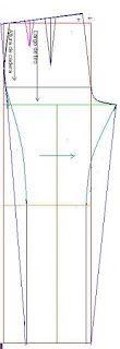Después de conocer el trazo del pantalón parte delantera y trasera, podemos aprender a trazar diferentes modelos, Por ejemplo como hacer un pantalon capri