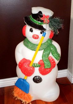 Vintage Blow Mold Fiber Optic Christmas by ForgetMeNotsCottage, $49.95 (SOLD)