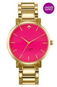 kate spade new york 'gramercy grand' bracelet watch, 38mm available at #Nordstrom