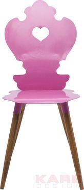 Chair  Adelheid Pink by KARE Design #chair #beerfest #wiesn #oktoberfest #bavaria #adelheid #pink #steel #KARE #KAREDesign
