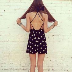 Brandy Melville Cut Out Dress