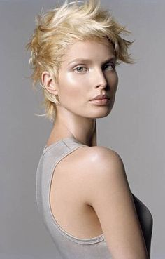 totally obsessed by short hair this really looks like what i'm going for