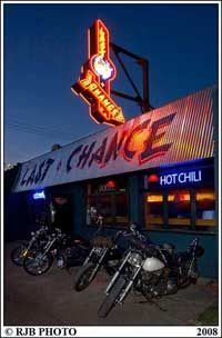 Slim's Last Chance Chili Shack and Watering Hole   5606 1st Ave S  Seattle, WA - my kind of joint