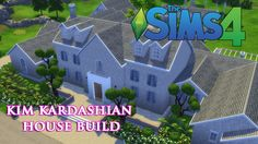 The Sims 4 - Kim Kardashian House build (Part 2) #kimkardarhian #sims4 #sims4cc