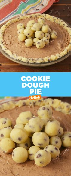 This pie is like eating cookie dough right out of the package.  | Posted By: DebbieNet.com