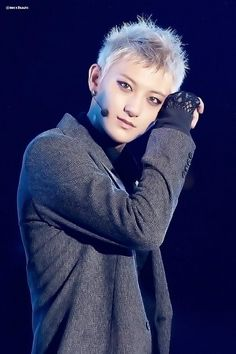 Tao during a performance, look's like he's posing almost, he's so photogenic