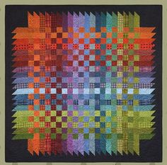 Over & Down Under Quilt Kit <font color=red>Arriving Aug/Sept… Jellyroll Quilts, Scrappy Quilts, Easy Quilts, Quilting Projects, Quilting Designs, Quilting Ideas, Quilt Modernen, Flannel Quilts, String Quilts