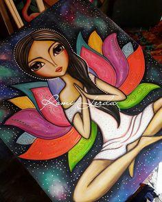ideas for painting acrylic mermaid artists Dot Art Painting, Arte Pop, Whimsical Art, Face Art, Indian Art, African Art, Diy Art, Art Drawings, Art Projects