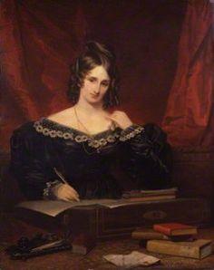 Portrait de femme dit de Mary Wollstonecraft Shelley, Samuel John Stump National Portrait Gallery (Londres), 1831, huile sur toile