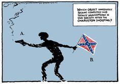Gun Control and Gun Rights Cartoons - US News