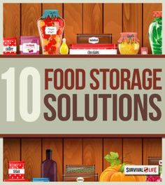 10 Food Storage Solutions for the Urban Prepper   Survival Prepping Tips and Ideas by Survival Life http://survivallife.com/2015/05/07/10-food-storage-solutions-for-the-urban-prepper/