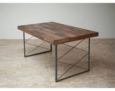 Stunning Reclaimed 'Appalacian' Patchwork Dining Table or Desk ($1,195.00) - Svpply