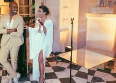 Kim Kardashian y Kanye West celebran su primer aniversario