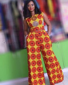 Gorgeous Clothes on africa fashion 286 African Print Jumpsuit, Ankara Jumpsuit, African Print Dresses, African Dress, Latest African Fashion Dresses, African Print Fashion, Africa Fashion, African Attire, African Wear