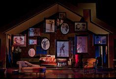 """Set design for """"I Do! I Do!"""" - Westport Country Playhouse"""