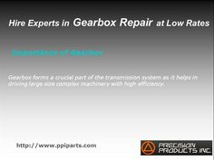Gearbox forms a crucial part of the transmission system as it helps in driving large size complex machinery with high efficiency.