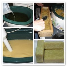 I am so going to get an old Crock Pot from Goodwill and start making soap.