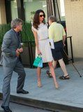 Aside from Amal Clooney's natural ability to put together an outfit, she's got another thing going for her: a vintage wardrobe. Because somehow - when the human rights activist and lawyer is not working to better our world and defend high-profile clients - she finds time to thrift shop.   #POPSUGAR Fashion