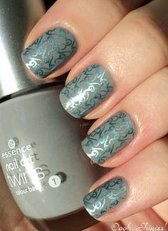 nail stamping, BM plate 222