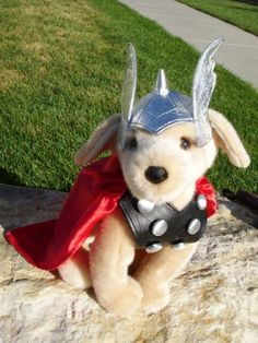 The Crafty Cattery: Thor Puppy-I want to make this for my baby dog!