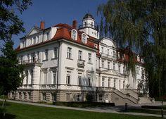 Palace in Ludwigsfelde-Genshagen in Brandenburg, Germany