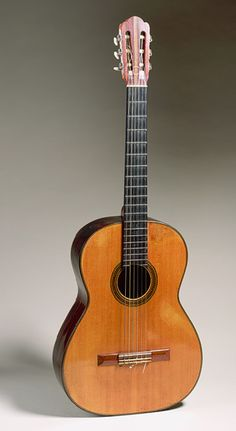 Hermann Hauser: Guitar (1986.353.1) | Heilbrunn Timeline of Art History | The Metropolitan Museum of Art. Based closely on Spanish models, this guitar replaced the Ramírez guitar (1986.353.2) as Andrés Segovia's principal concert instrument in 1937.