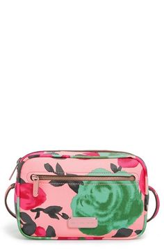 Flower Print Crossbody Bag
