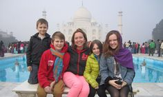 India with four kids in tow? You'd have to be crazy, right? Right, says Rosie…