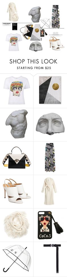 """Girl ON FIRE"" by orangeandmore on Polyvore featuring Romanelli, MaxMara, Vince Camuto, Kate Spade and Alyx"