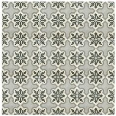 "Kaiden 9.75"" x 9.75"" Porcelain Patterned/Field Tile in Gray"