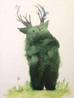 Illustrations, Children's Book Illustration, Inspiration Artistique, Cute Monsters, Conte, Aesthetic Art, Storyboard, Cute Art, Art Inspo
