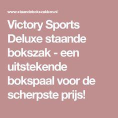 Victory Sports Deluxe staande bokszak - een uitstekende bokspaal voor de scherpste prijs!