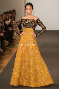 Dany Atrache Dress from Spring Summer 2016 Collection - hector rafael ramirez pereles