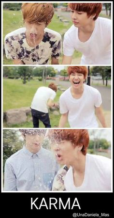 They're so cute! xD #minwoo #jeongmin