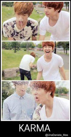 They're so cute! xD #minwoo #jeongmin