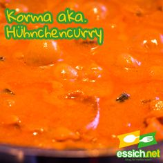 Korma aka. Hähnchencurry Korma, Food, Food Recipes, Meal, Essen, Hoods, Meals, Eten