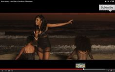 Where Reality And Fantasy Get Confused : Sevyn Streeter ~It Won't Stop Music Video Featuring Chris Brown
