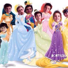 MAGCON Boys | Disney Princess....Or Nah?